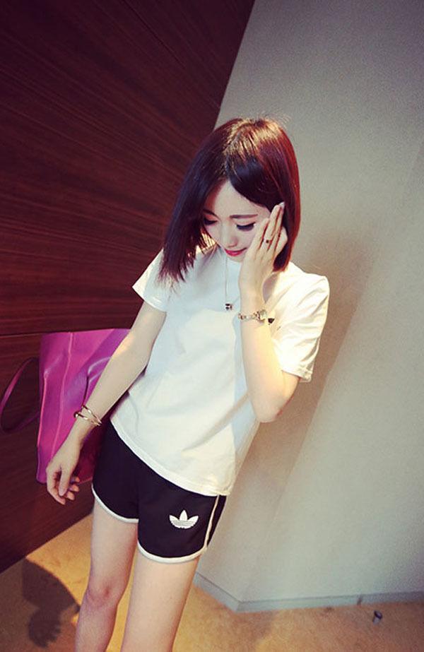 夏愛用 大人気可愛いセットアップ レディースファッション ナイキTシャツ 短パン   涼しい逸品!