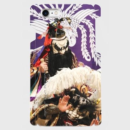 "deez's.com:plex original kookai04 ""shooki(鐘馗)2"" ハードタイプiPhoneケース"