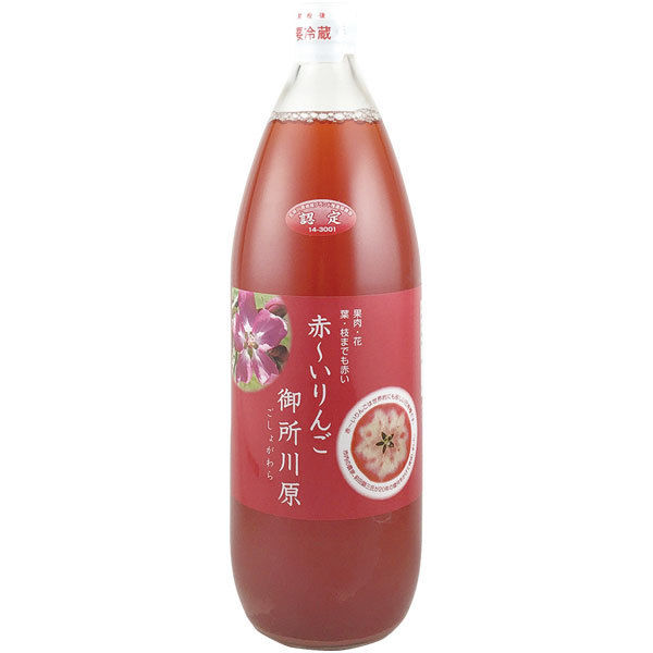 中まで赤~いりんごジュース 大瓶1000ml
