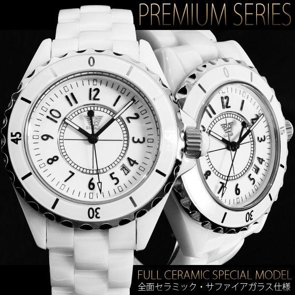 【極上の全面セラミック仕様】★フルセラミック腕時計【BOX・保証書付】