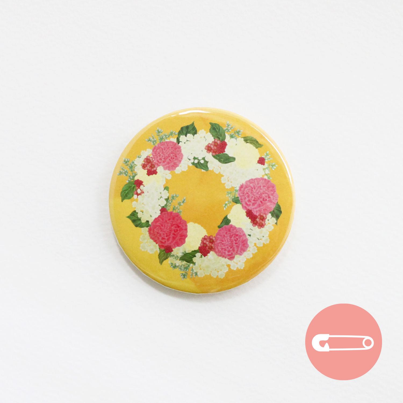 花柄リース_カーネーション【31mm】
