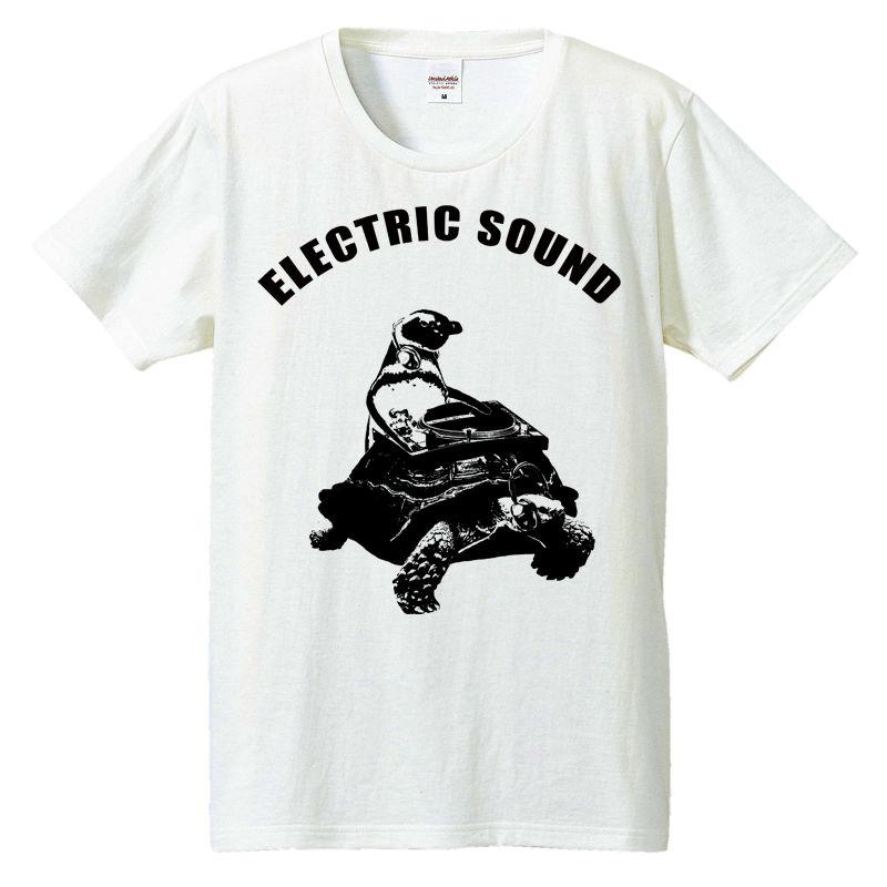 [Tシャツ] ペンギンとカメとターンテーブル