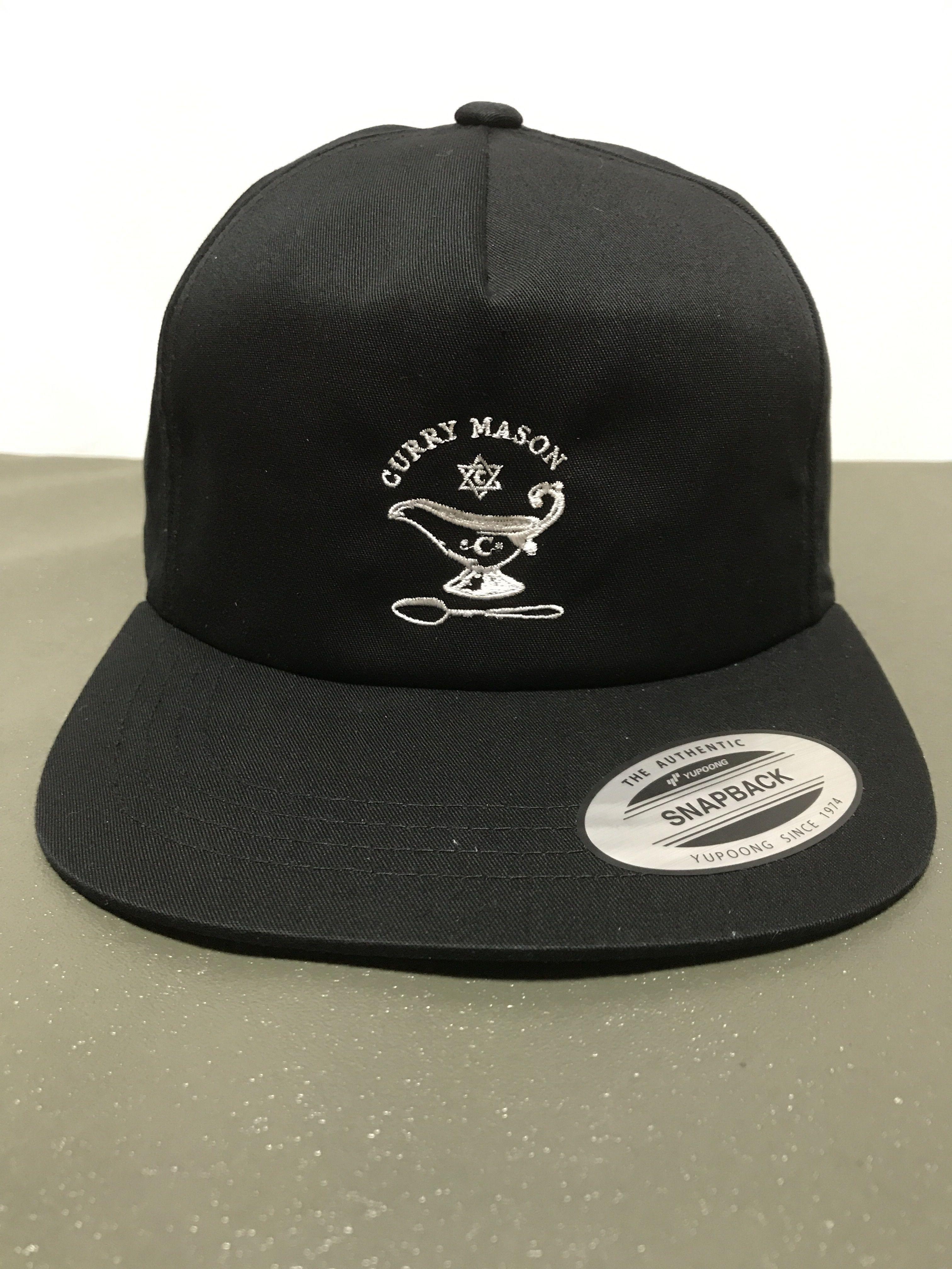 8月上旬再入荷 CURRY MASON LOGO CAP