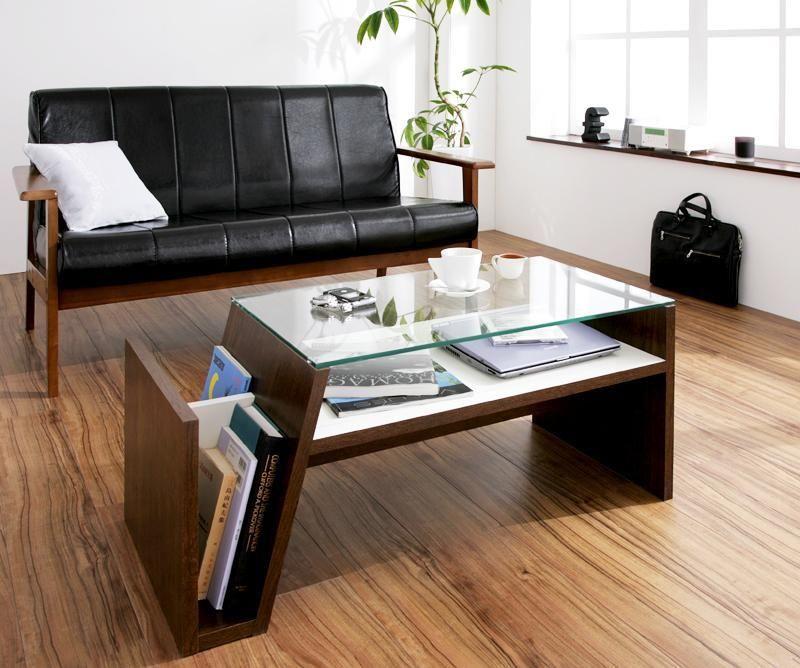 デザインガラステーブル Luke ルーク W90  北海道・沖縄・離島不可