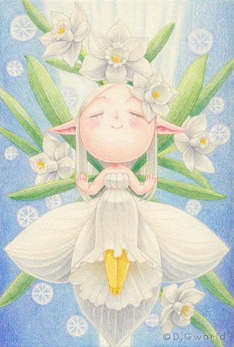 【額ナシ】花の妖精さん原画