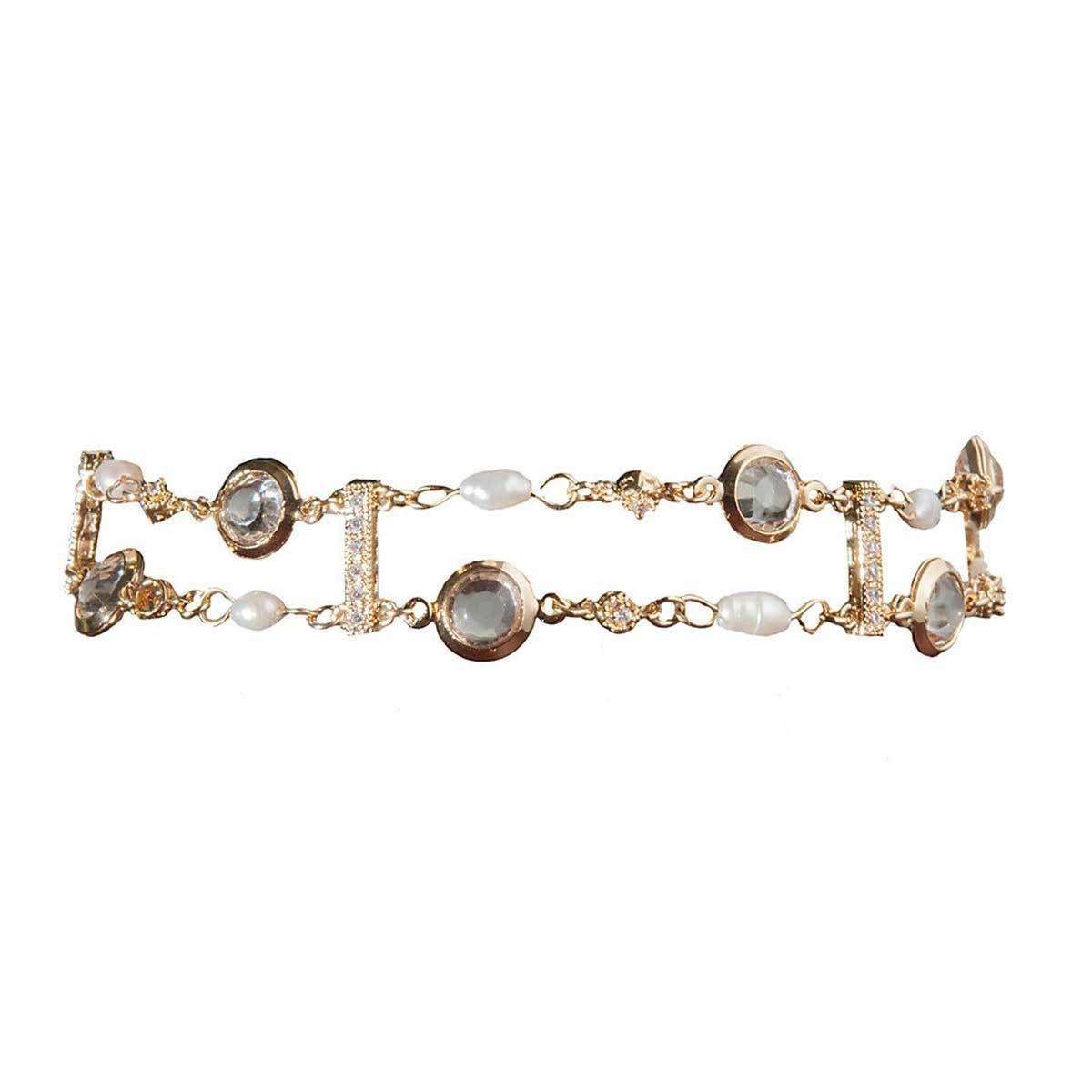 ブレスレット レディース Catwalk Call Bracelet アメリカン ブランド Ettika エティカ
