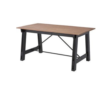 【Azumaya 東谷】Isaac アイザック ダイニングテーブル 天然木(ミンディ)AZ2-150(NW-853T)