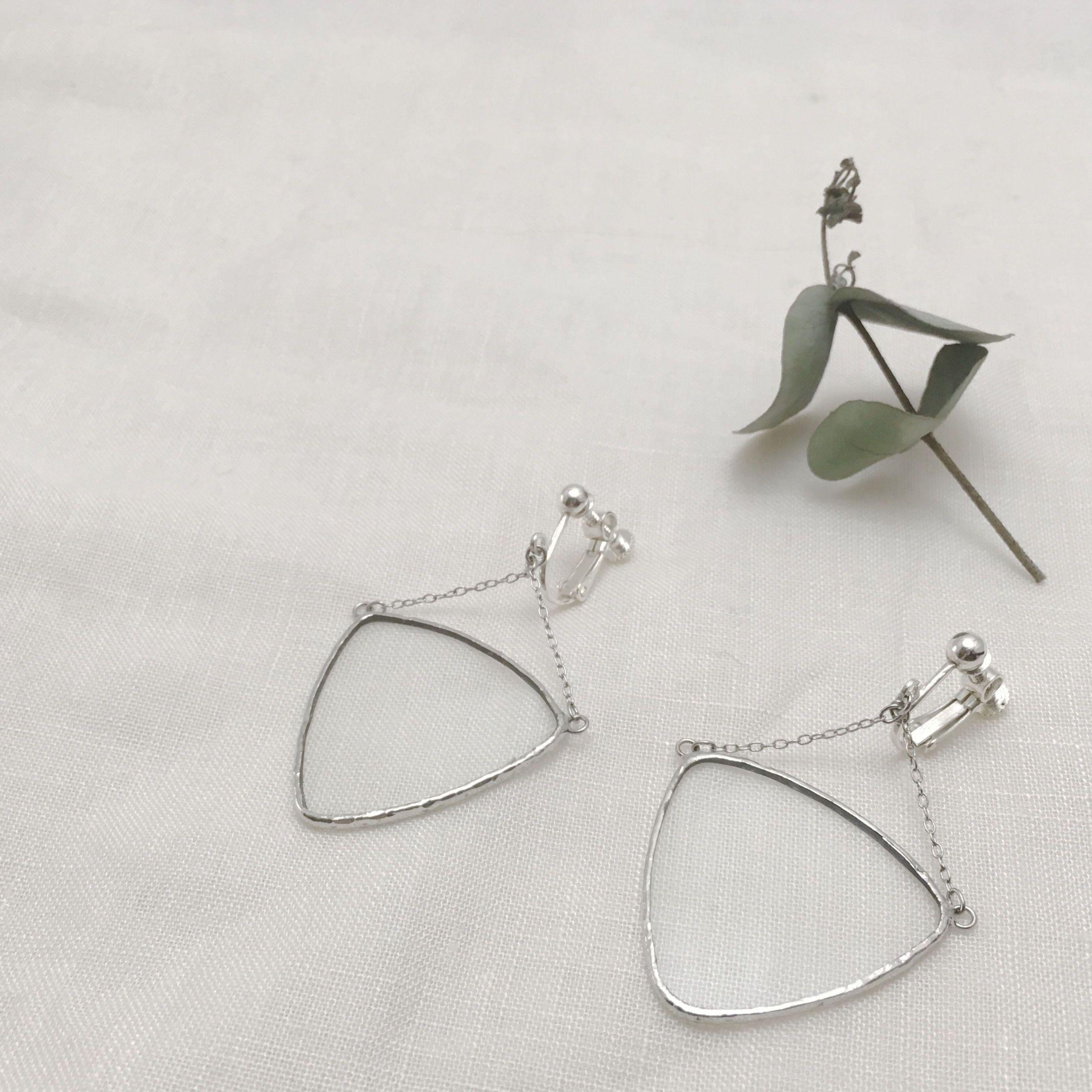 Balance  Earring / 透明 ピアス&イヤリング