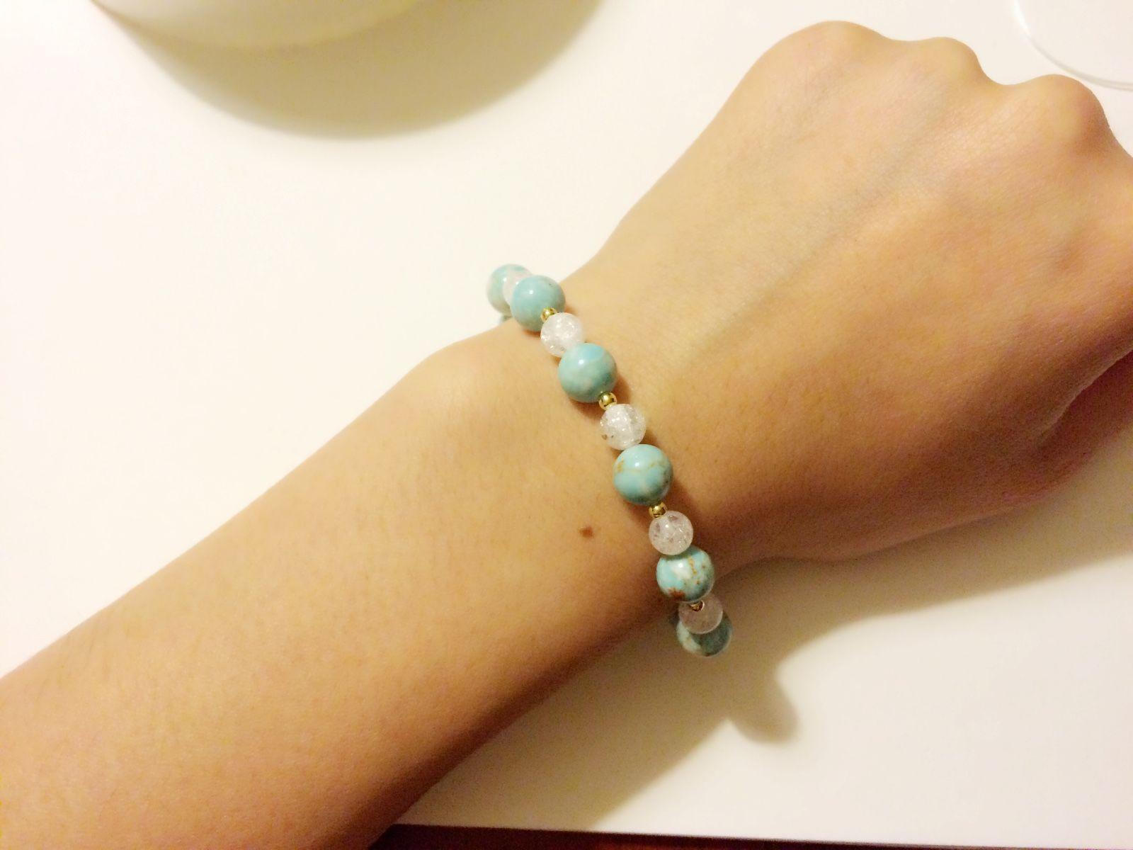 【天然石】seashore bracelet♯
