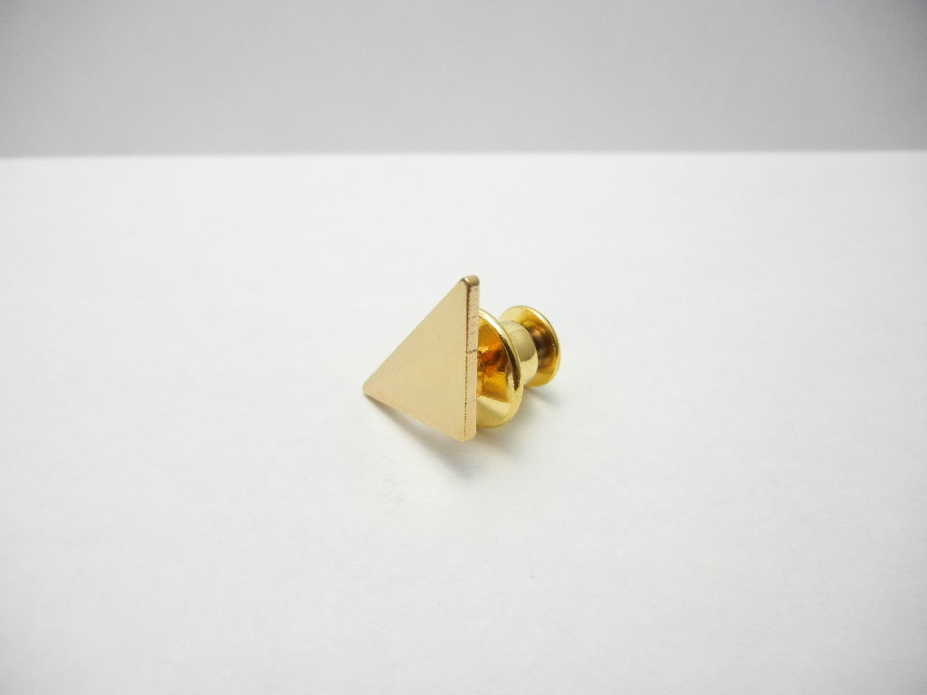 Triangle Pins   (GOLD)