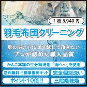 羽毛布団クリーニング(完全個別洗い)
