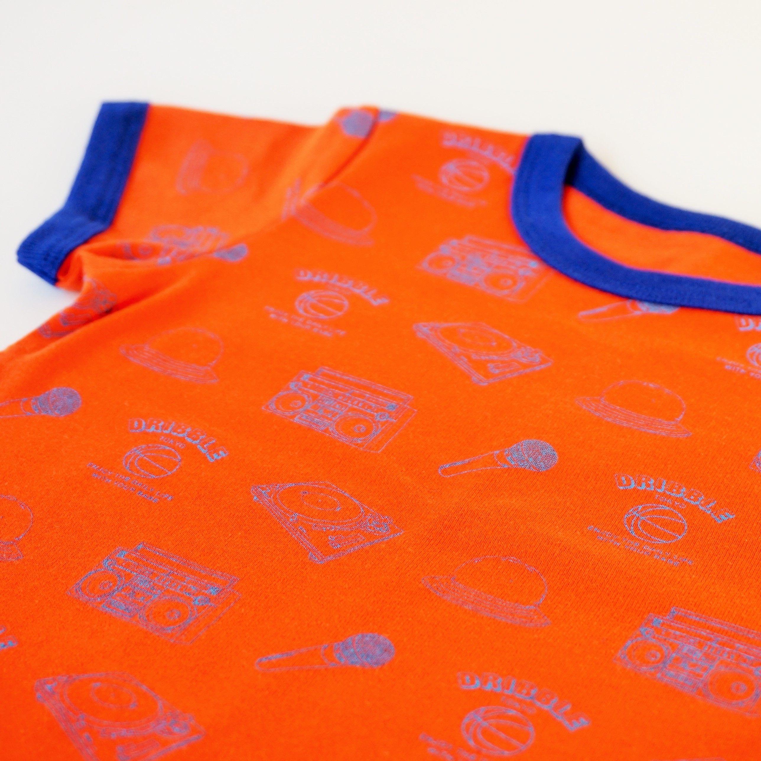 "DRIBBLE ""HIPHOP"" Tシャツ"