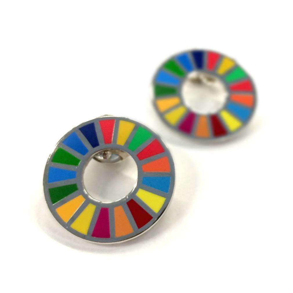 国連 SDGs ピンバッジ