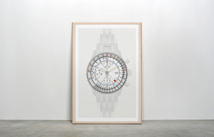 """""""Navitimer""""  Wall Watch [ inspired by BRETILING Old Navitimer ]"""