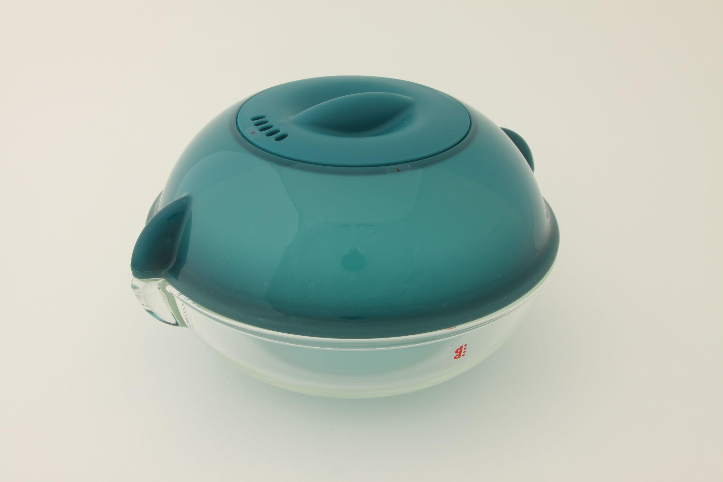 電子レンジ用調理皿ディディ  ブルー