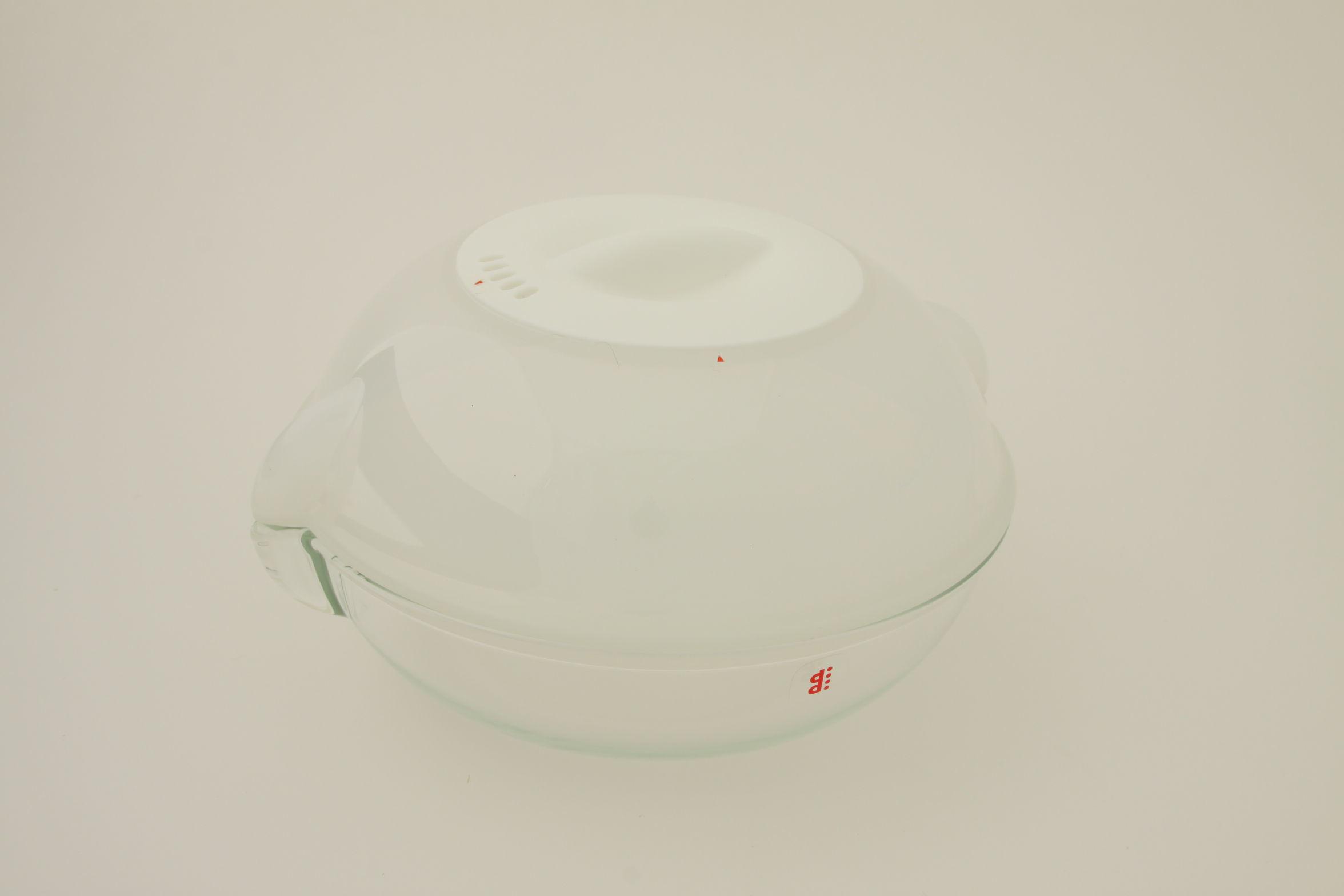 電子レンジ用調理皿ディディ  ホワイト
