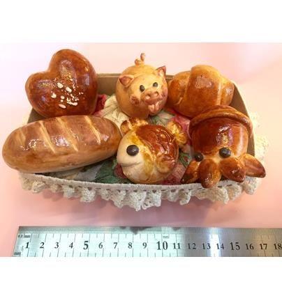 粘土のコロコロぱん 大サイズ 6種類  A