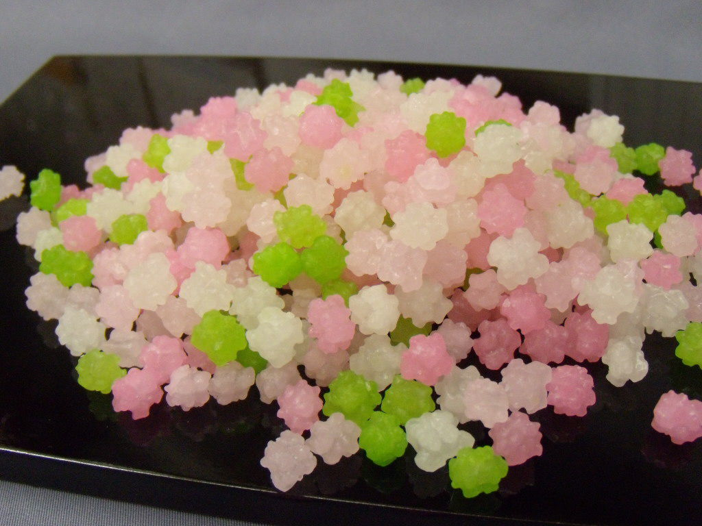 さくら金平糖(1kg)1000gも入ったベビーな桜金平糖♪