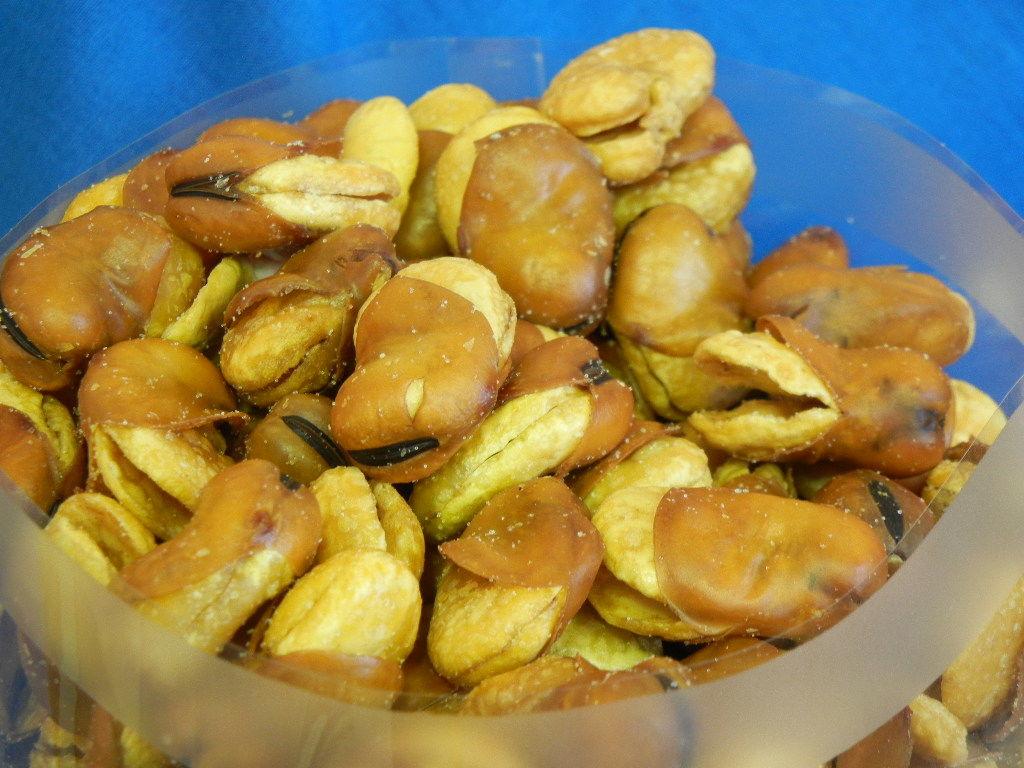 いかり豆(どっさり1kg)そら豆のフライおつまみ♪