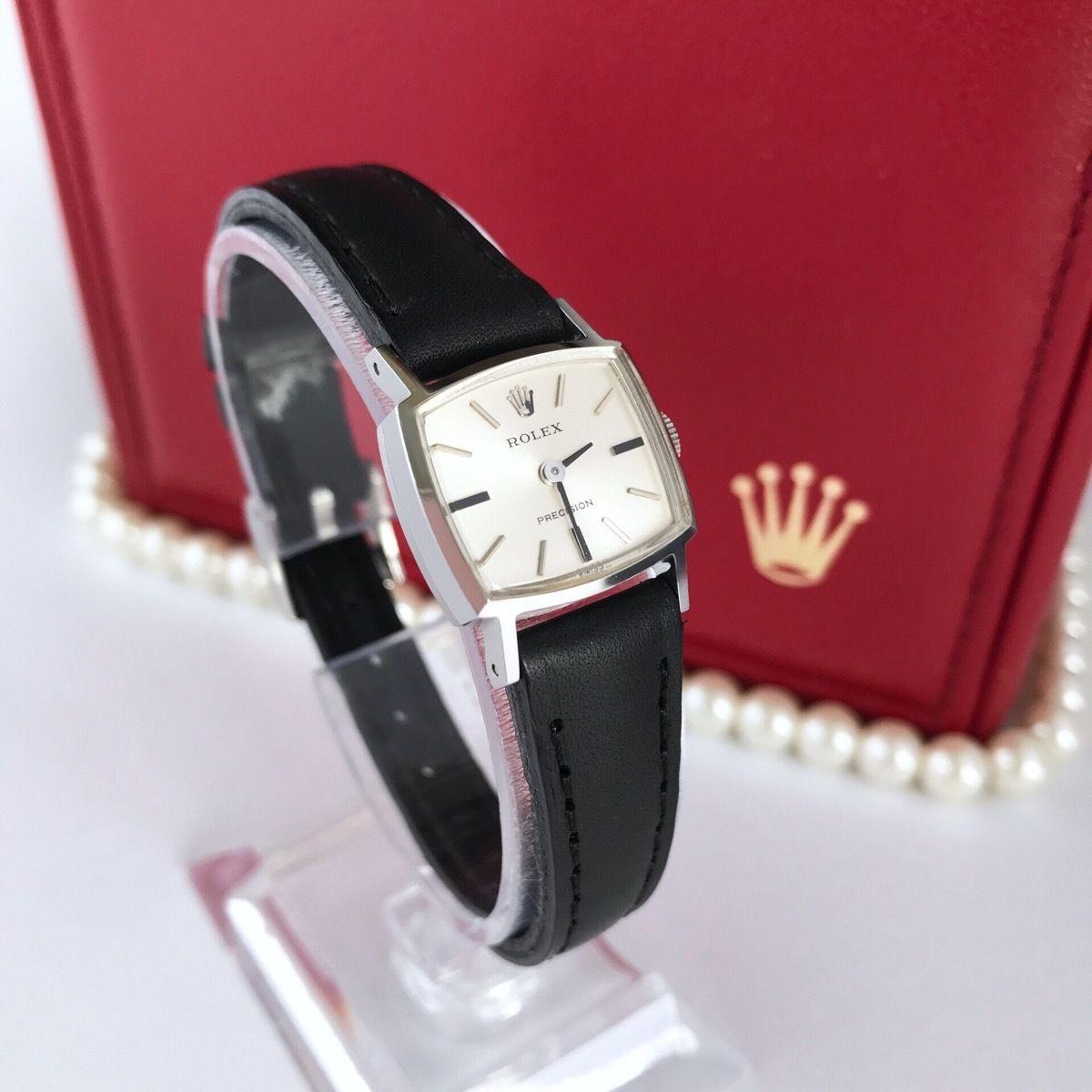 ROLEX ロレックス プレシジョン スモール レザーベルト 腕時計