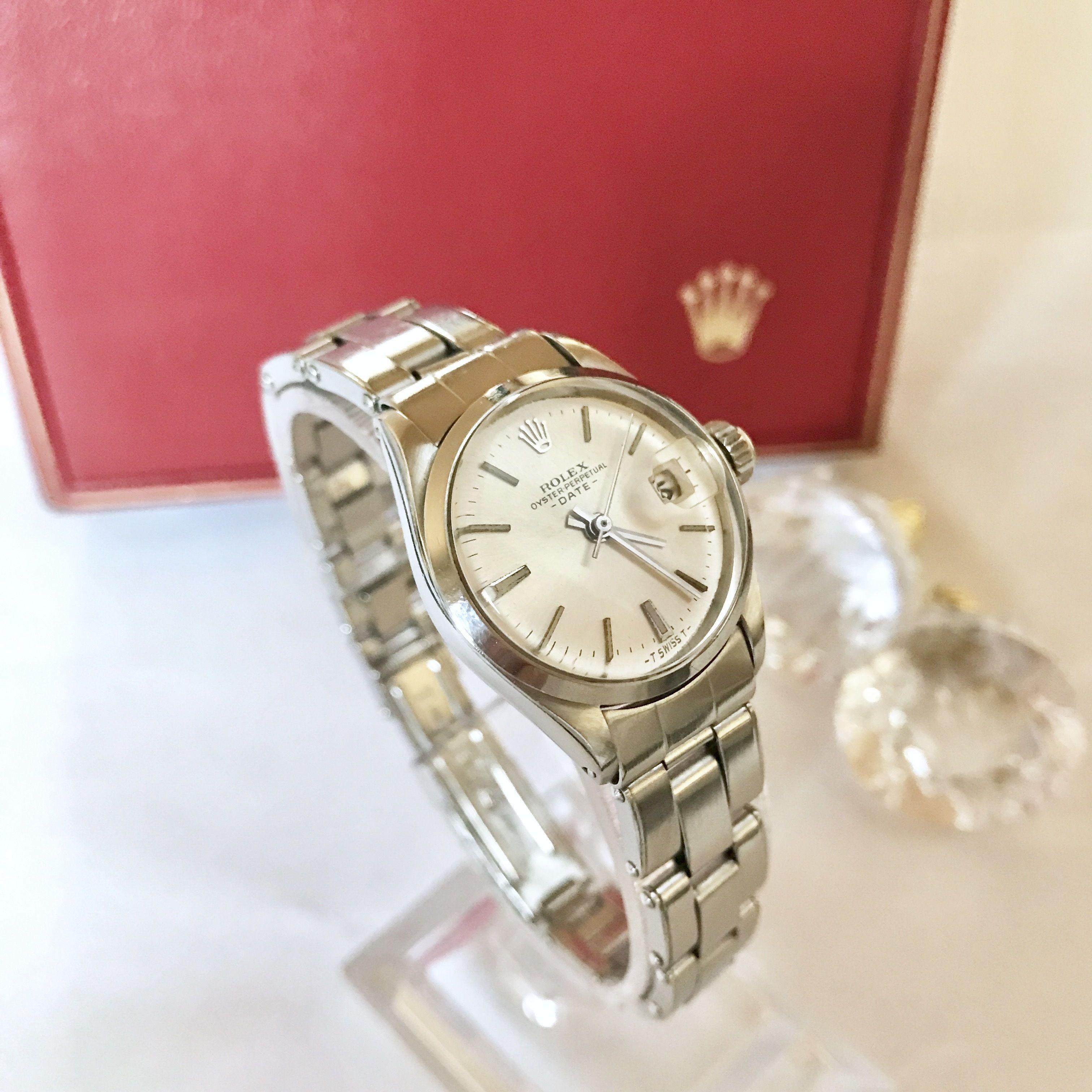 ROLEX ロレックス OH済デイト 腕時計