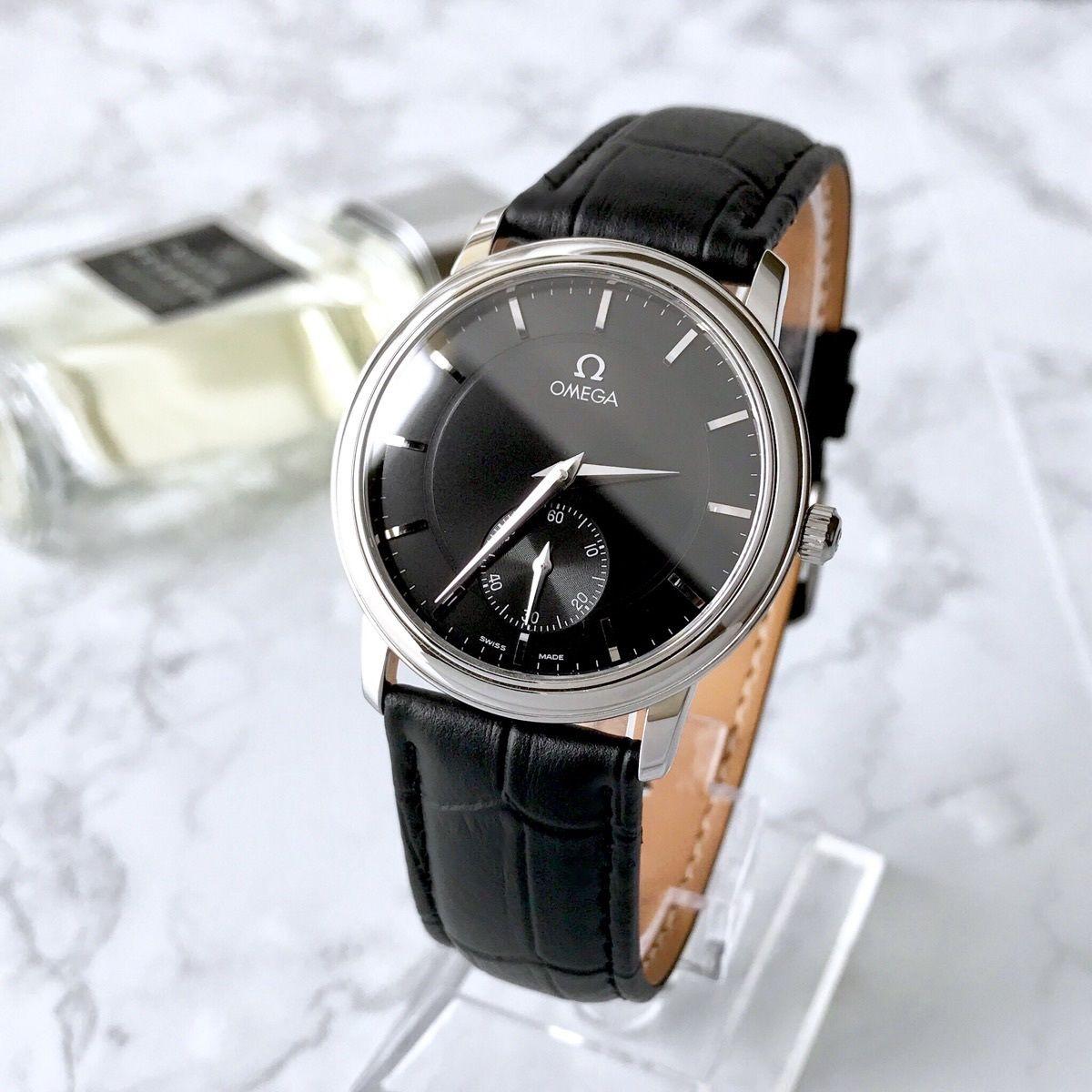OMEGA オメガ  プレステージ スモセコ 手巻き メンズ 腕時計
