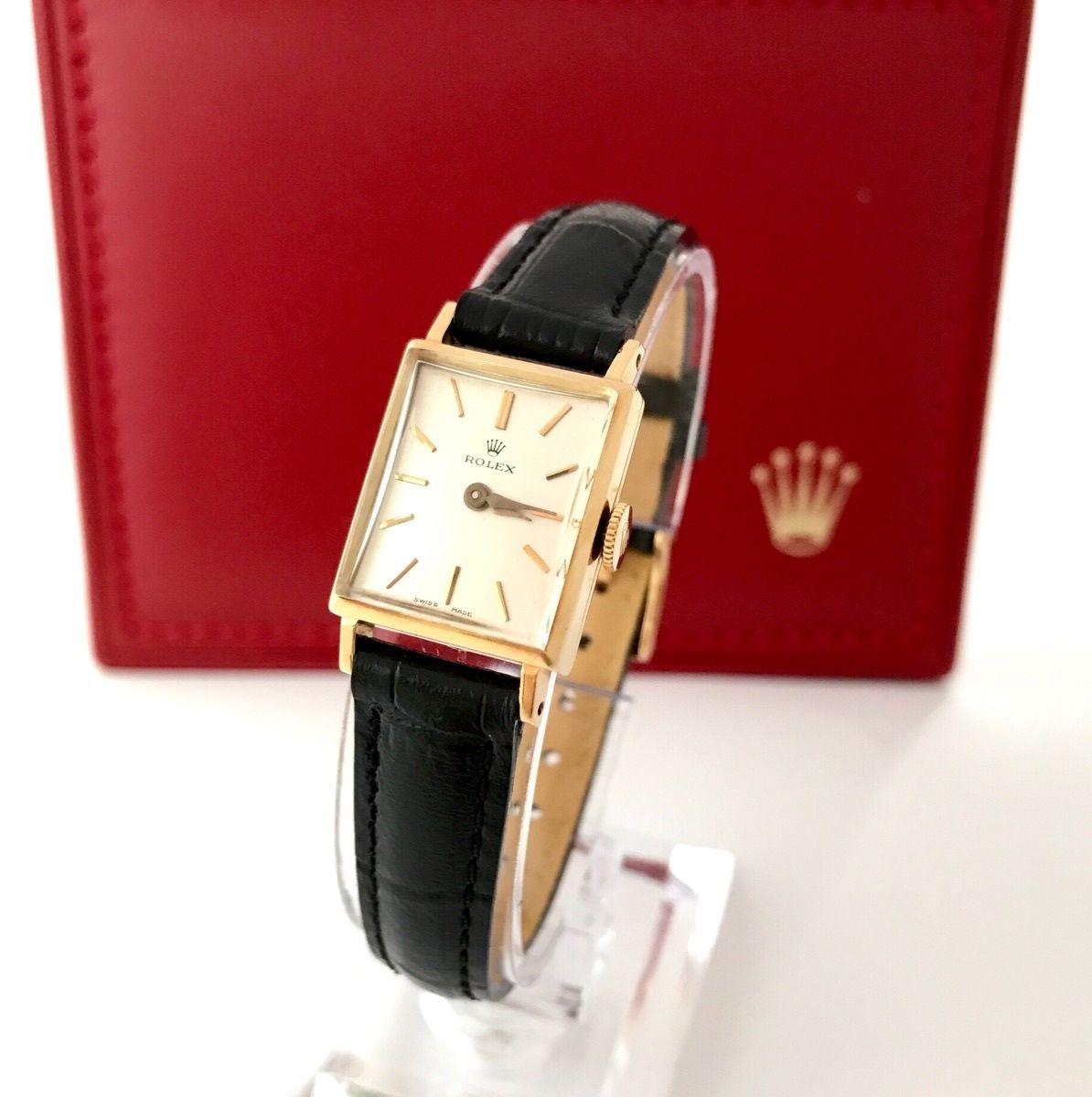 ROLEX ロレックス K18YGプレシジョン 腕時計