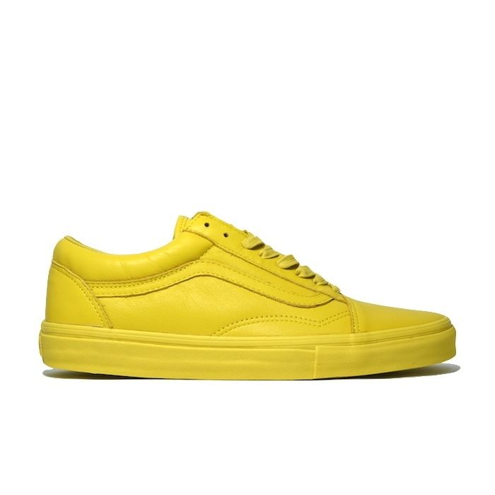 VANS OLD SKOOL LX OPENING CEREMONY YELLOW バンズ オールドスクール  レザー