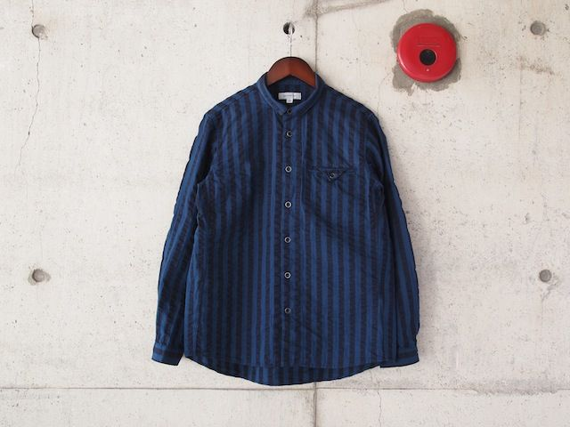 【unisex】Ordinary fits〈オーディナリーフィッツ〉 WORKERS SHIRT  (OM-S055) STRIPE
