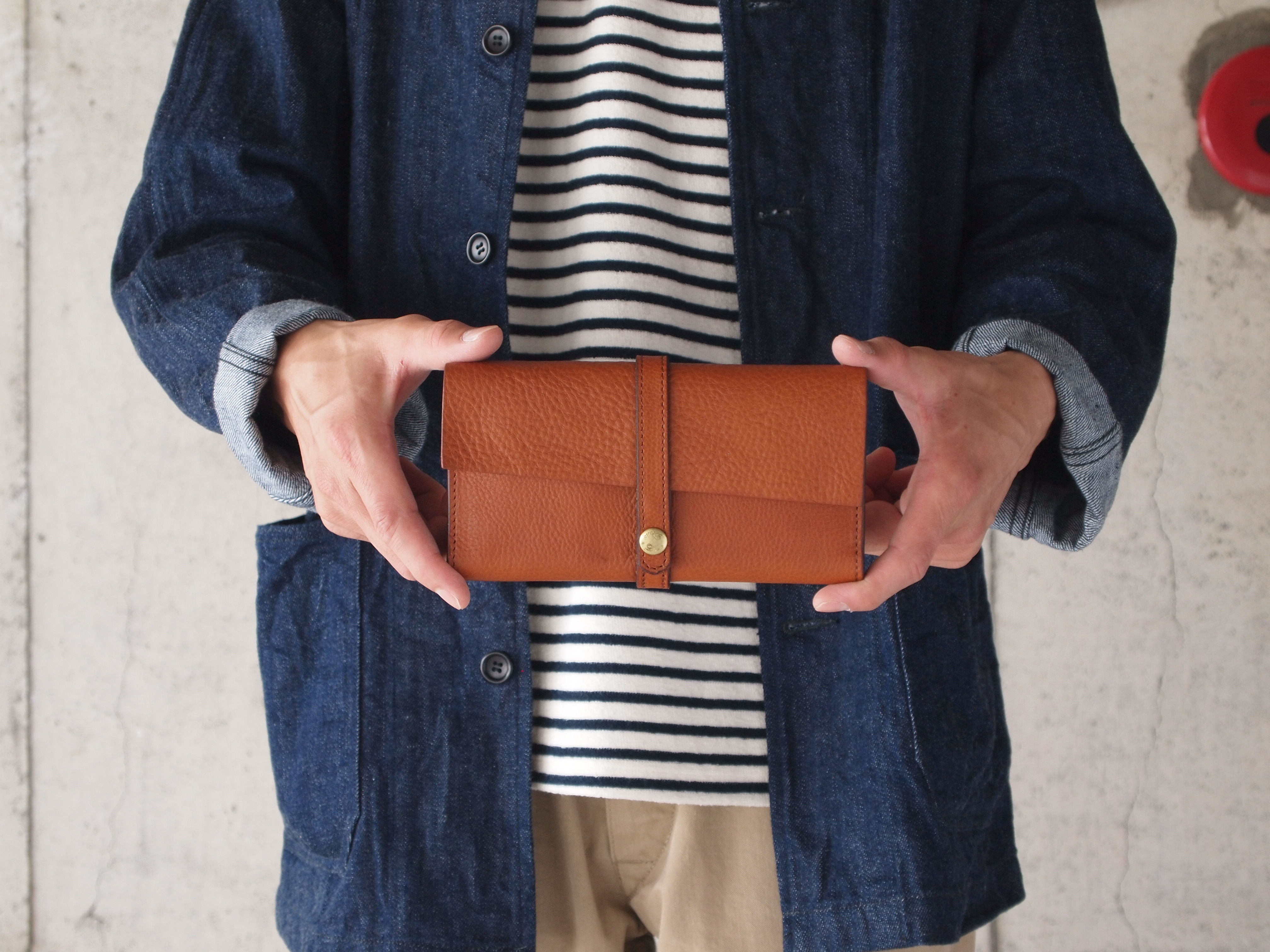 Dono〈ドーノ〉 ARIZONA LEATHER LONG WALLET BROWN
