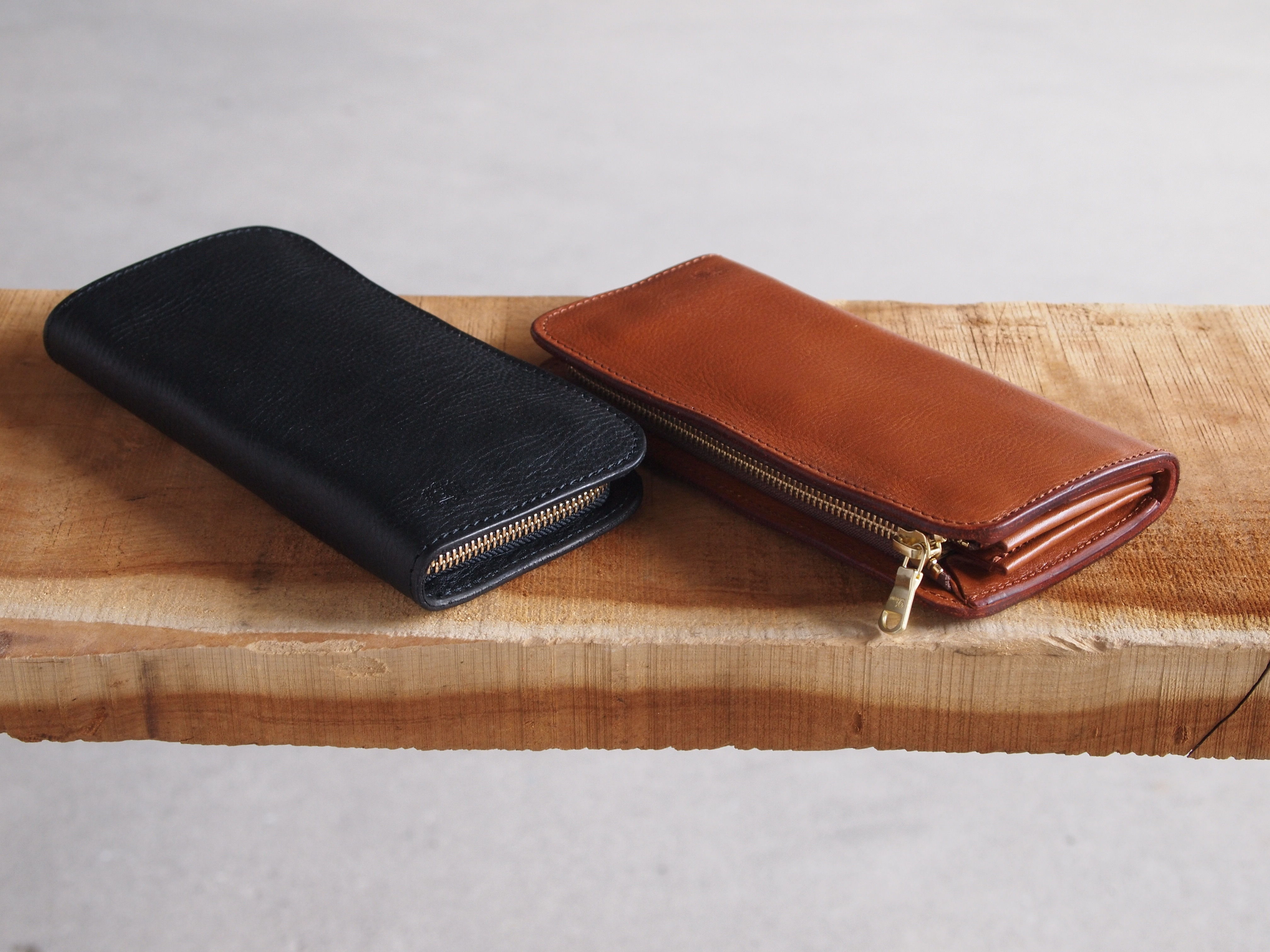 Dono〈ドーノ〉 LONG ZIP WALLET BLACK/CHOCO/BROWN/NUME/YELLOW/RED/TURQUOISE