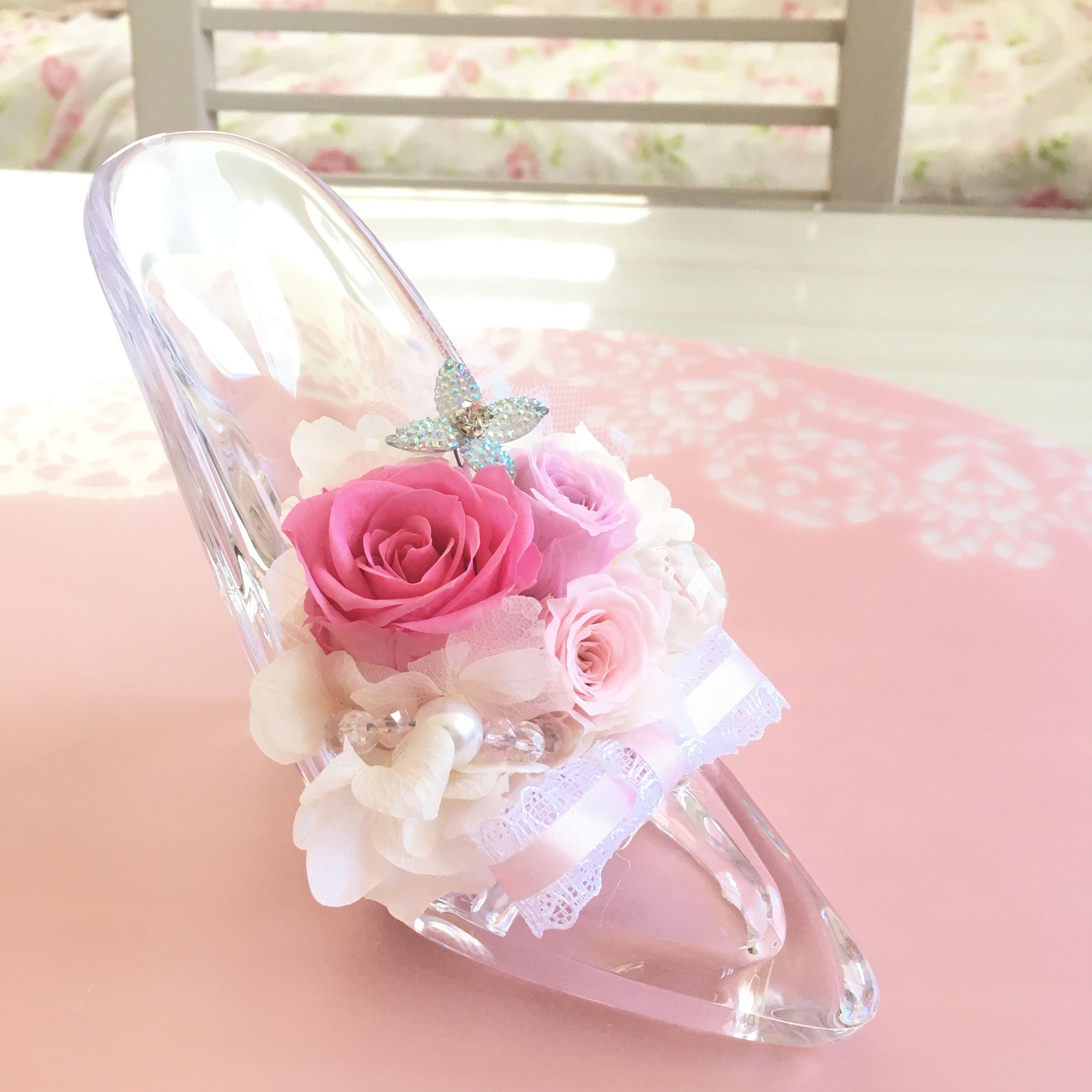 シンデレラのガラスの靴(pink ver)