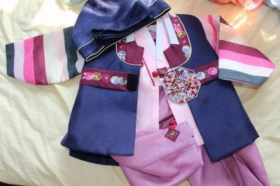 韓国の子供用正装服(子供用チョゴリ)