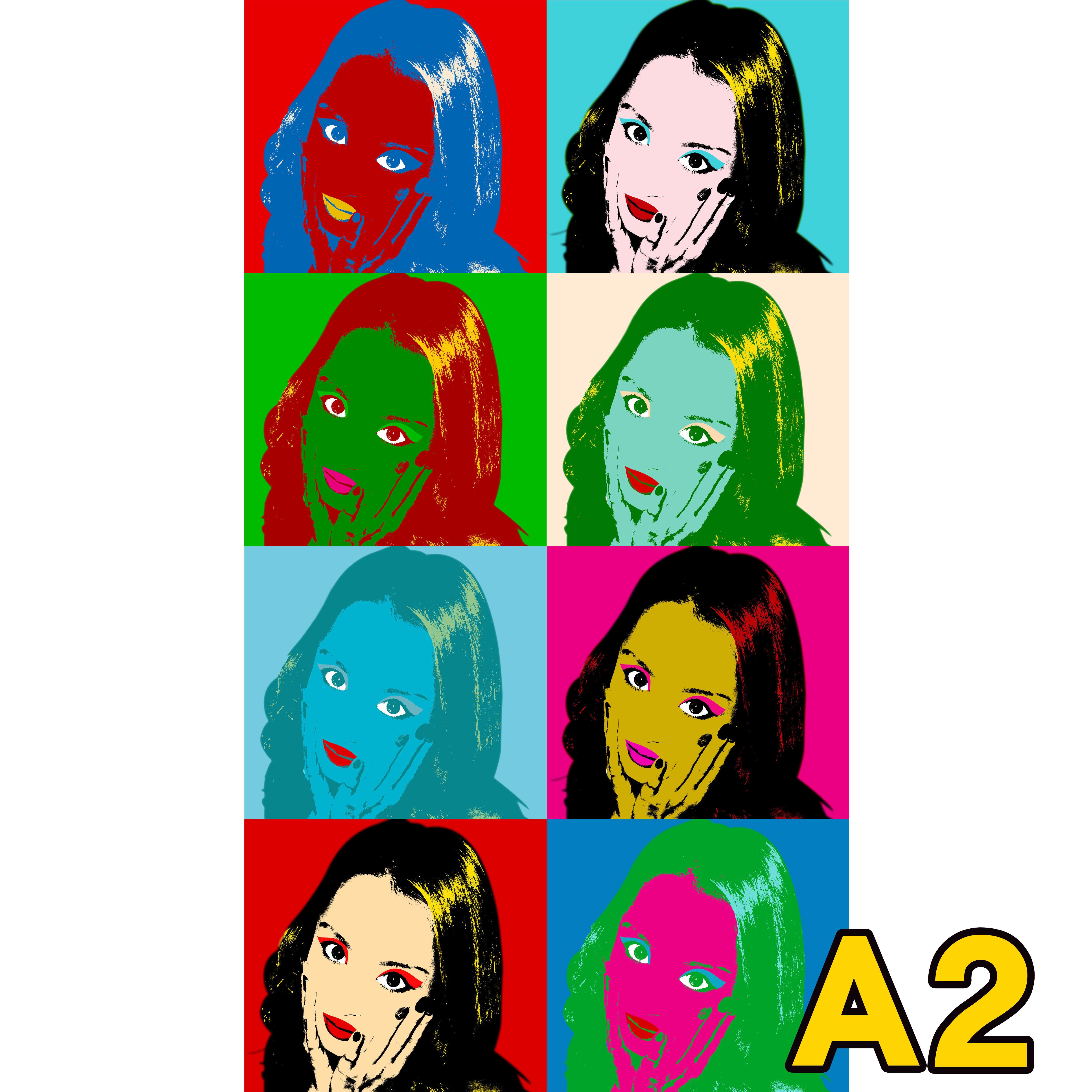 【オーダーメイドアート】ポスター・パネルボード/ポップアート風/A2サイズ