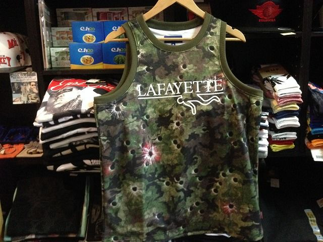 Lafayette × DEADLINE CAPSULE COLLECTION CHALK LINE CAMO MESH JERSEY