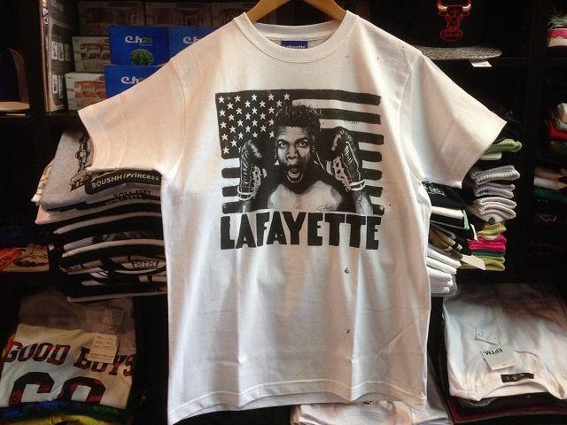 Lafayette×NOVOL MUHAMMAD ALI TEE