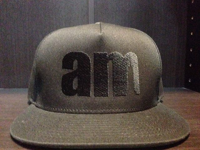 am after midnight EMBROIDERY LOGO 5 PANEL SNAP BACK CAP