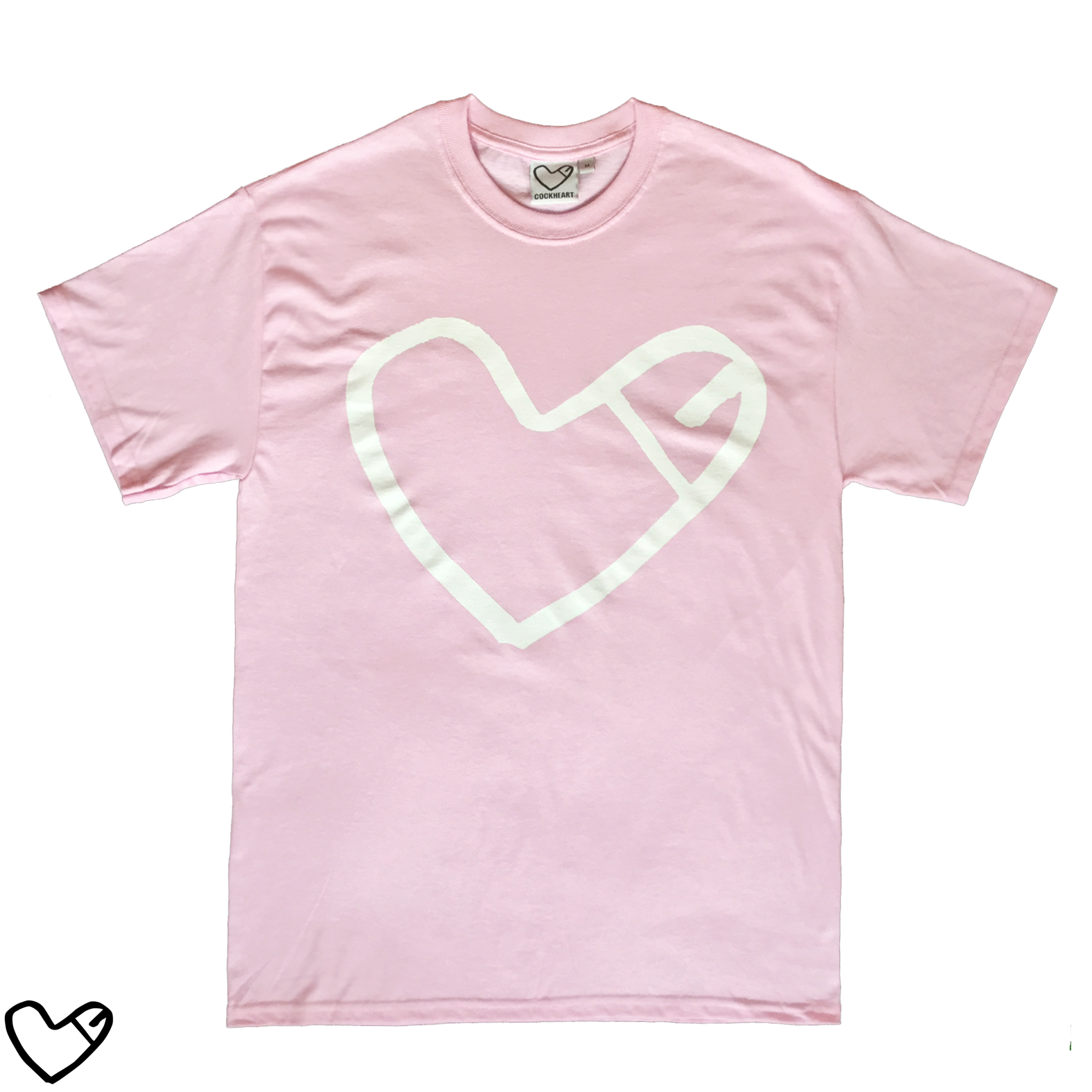 COCKHEART Tシャツ/ピンク