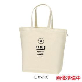 FEBIS ロゴマークトートバッグ<サイズ:L カラー:ナチュラル>