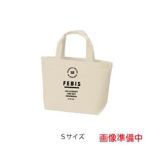 FEBIS ロゴマークトートバッグ<サイズ:S カラー:ナチュラル>