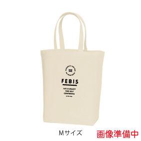 FEBIS ロゴマークトートバッグ<サイズ:M カラー:ナチュラル>