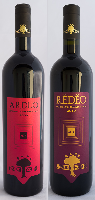 ARDUO【2009】+REDEO【2010】ピルロワイン飲み比べセット(送料込)