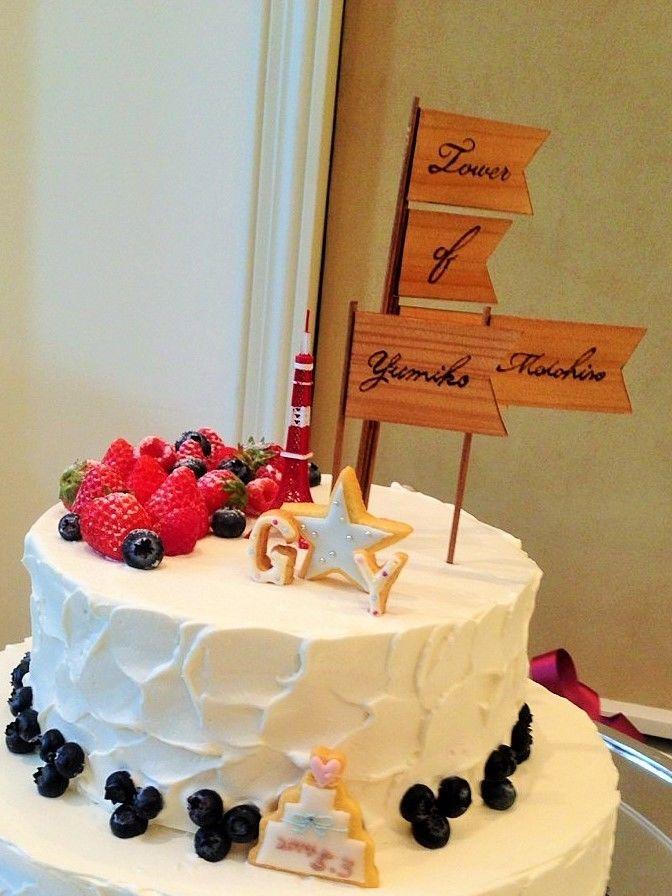 *Wedding Decoration* ケーキ用デコレーションピック