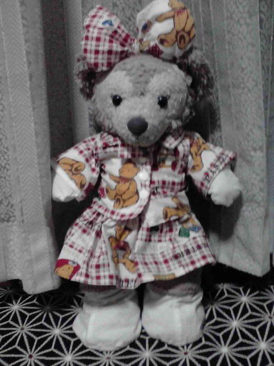 シェリー・メイのお洋服(クマ柄)