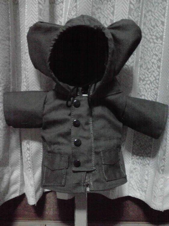 ダッフィーのお洋服(ミリタリーコート)