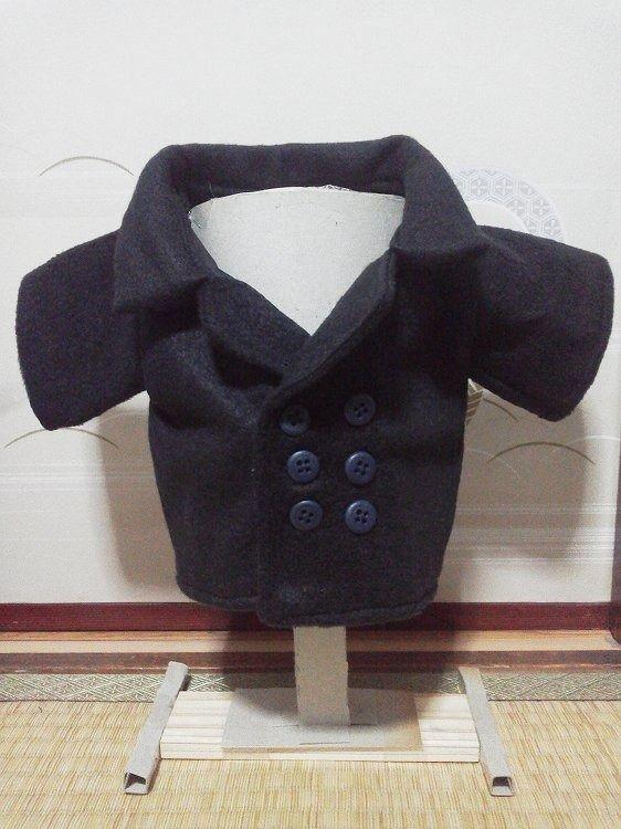 ダッフィーのお洋服(コート) ピーコート