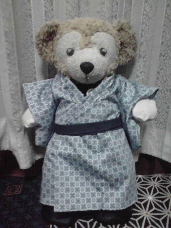 ダッフィーのお洋服(着物17)