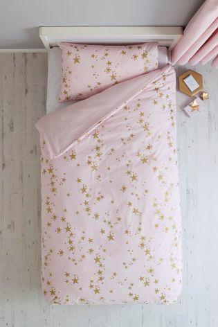 シングルサイズ 掛×枕カバー2 セット (メタリックスター)
