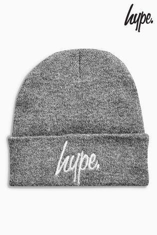 Hype ビーニー帽(グレー)