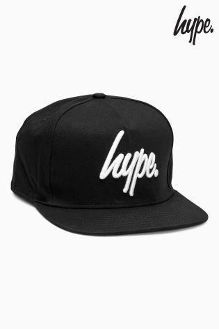 Hype ロゴ入りスナップバックキャップ(ブラック)